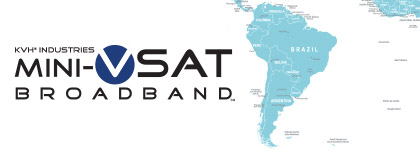 mini-VSAT Broadband network South America expansion