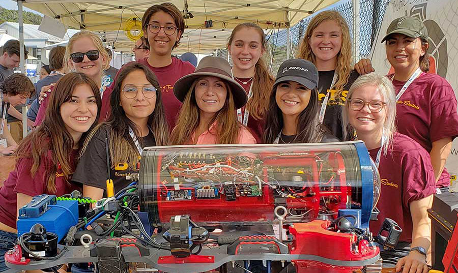 Arizona State University Desert WAVE engineering team