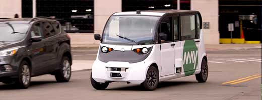 KVH Unmanned People Mover