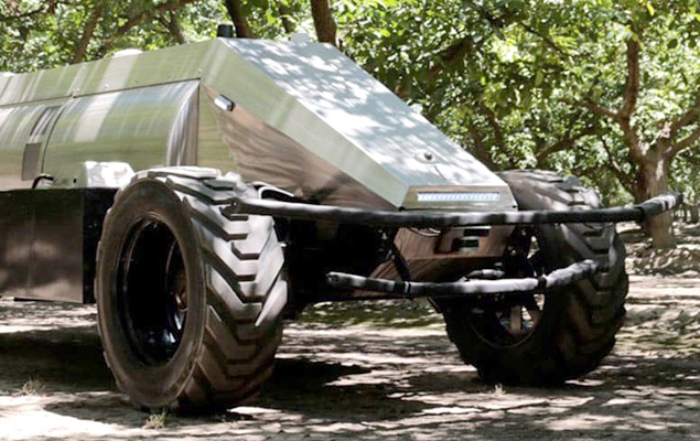 First Autonomous Orchard Sprayer