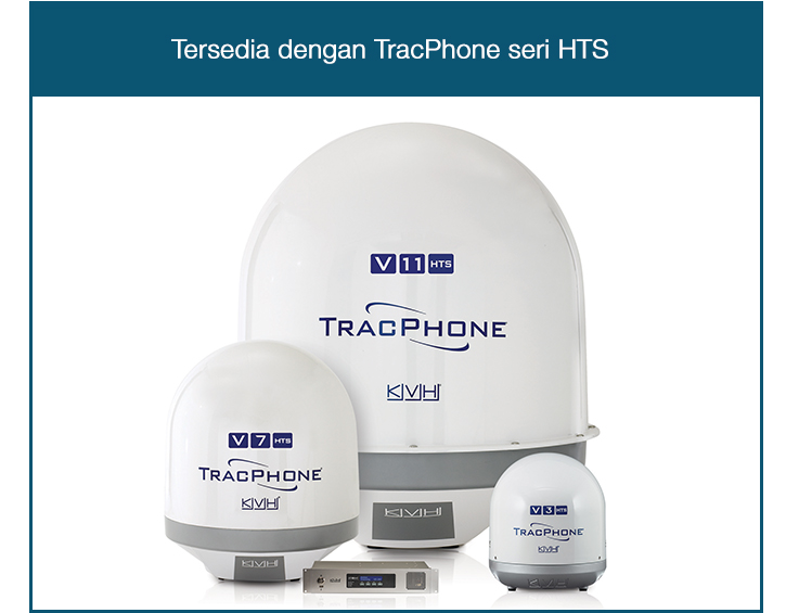 TracPhone HTS-series VSAT