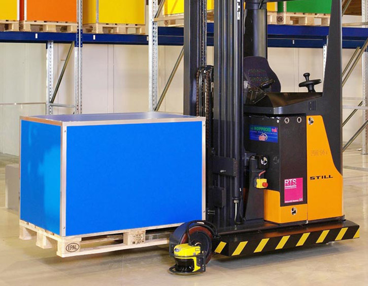 DSP-3100 unmanned material handling
