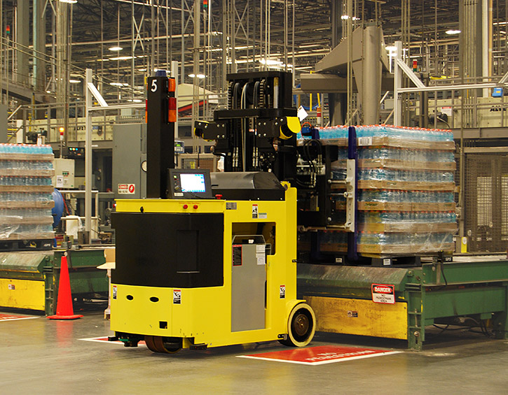DSP 3400 unmanned material handling