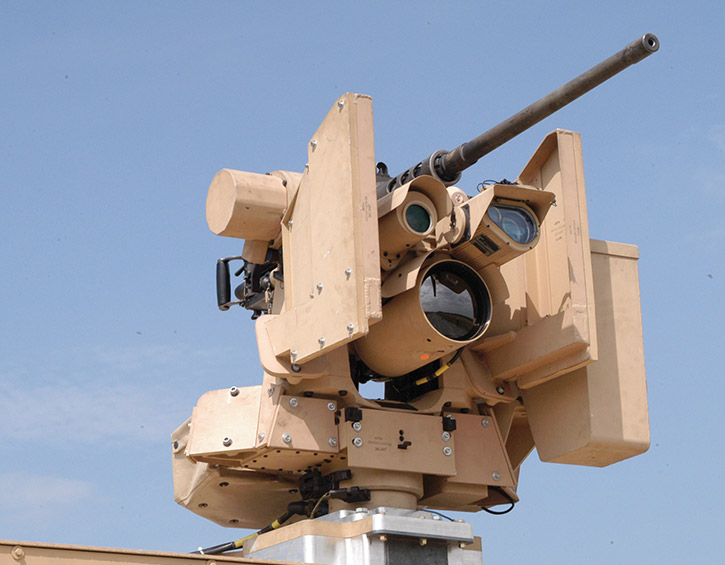 DSP 4000 unmanned turret