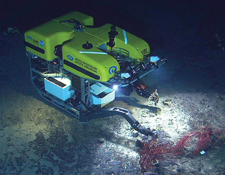 GEO-FOG 3D Dual used in submersible vehicle