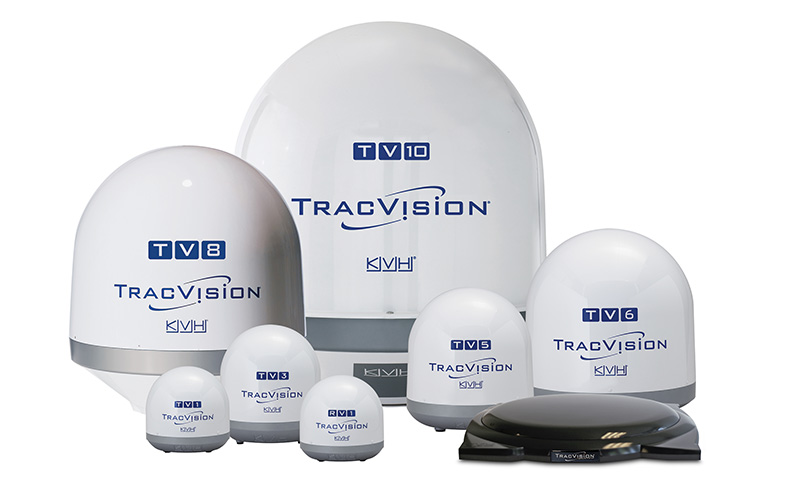 TracVision TV-series RV1 and A9 antennas
