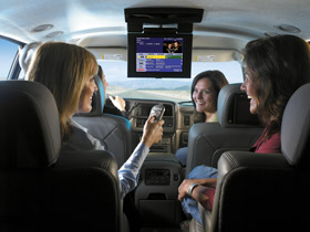 KVH's TracVision A9 brings more than 300 channels of DIRECTV or DISH Network service on the open road