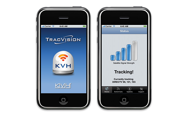 TracVision iPhone Application